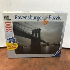 Ravensburger 300 Piece Jigsaw Puzzle #135271 Brooklyn Bridge