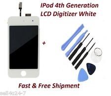 White Replacement LCD Touch Screen Digitizer Assembly for iPod Touch 4 4th Gen