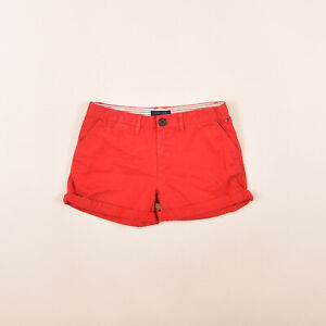Tommy Hilfiger Mädchen Kinder Shorts Hose Freizeithose Gr.152 NYC Denim 81655