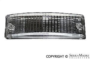 Front Turn Signal Lens, Clear, Porsche 911/912E/930 (74-89)