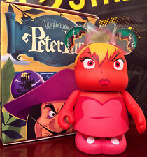 """DISNEY VINYLMATION 3"""" PETER PAN SERIES TINKER BELL RED ANGRY JEALOUS TOY FIGURE"""