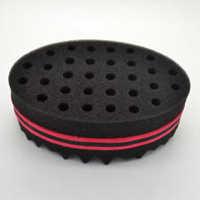Double Barber Hair Brush Sponge / Dreads Locking Twist Coil Afro Curl Wave Oval