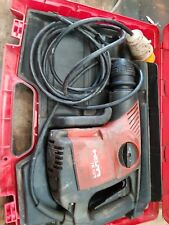 HILTI TE106 AVR TE 106 SDS BREAKER CHUCK 110 V BOX VAT INCL LIGHT BREAKER CHIPPE