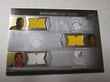 KEVIN DURANT - MIKE CONLEY - JEFF GREEN Rookie RC Jersey 07-08 SPx Freshman Trip