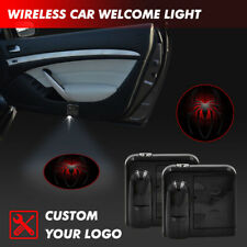 Car Door Projector Spider Spiderman Logo Welcome Courtesy LED Ghost Shadow Light