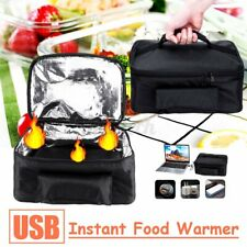 USB Portable Lunch Heating Bag Oven Car Vehicle/Household Instant Food Bag @