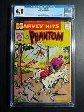 "HARVEY HITS #1 CGC 4.0 1957 ""PHANTOM!"""