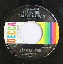 Country 45 Loretta Lynn - (This Bottle'S) Taking The Place Of My Man / You'Ve Ju