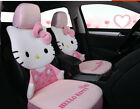 1 Set New Hello Kitty Bow Cute Universal Car Seat Cover Cushion Ice Silk Pink 09