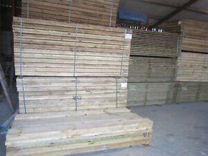 Tanalized Boards 2.4m 200x38