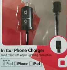 DSE APPLE MFI CERTIFIED CAR CHARGER IPAD IPHONE