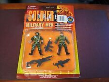 """Tiger Squad Soldier Force Military Men Play Set New in Package 3-3/4"""" Figures"""