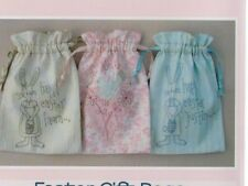 PATTERN - Easter Gift Bags - stitchery decorated bags PATTERN - Rosalie Dekker