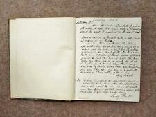 More details for 1846-52 hand written fox hunting journal 156 page hurworth bedale duke cleveland