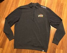Cleveland Cavaliers NBA Brand 47 Forward Adult XL 1/4 Zip Pullover Sweater