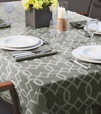 New! Elegant tablecloth, geometric pattern, durable, easy to clean, rectangular