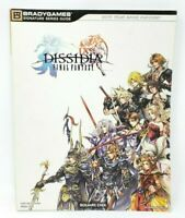 Dissidia Final Fantasy Official Brady Games Strategy Game Guide