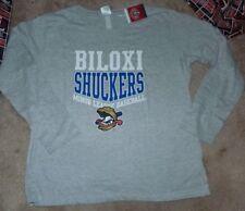 NEW MiLB BILOXI SHUCKERS Women Ladies XL X-Large Minor League T Shirt NWT
