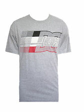 NEW DC SHOES MENS GUYS GRAPHIC HEATHER T SHIRT REGULAR FIT TEE CREW TOP BLOUSE M