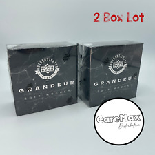 2017 Upper Deck Grandeur Hockey Coin Collection (2 Box Lot)