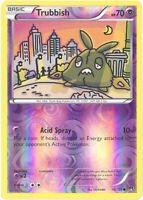 Pokemon Card - XY BREAKpoint 56/122 - TRUBBISH (reverse holo) - NM/Mint