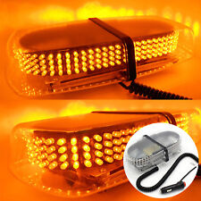 240LED Amber Warning Strobe Light Recovery 12VCar Flashing Magnetic Beacon Light