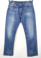 Levi's Strauss & Co Hommes 504 Jeans Jambe Droite Taille W34 L32 AVZ122