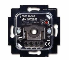 BUSCH JAEGER - DREHDIMMER 6523 U-102 - UP LED - 2 bis 100 WATT - NEU
