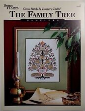 Craftways Better Homes and Gardens 031666 The Family Tree 8 Cross Stitch