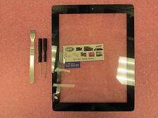 Apple Ipad 3 A1416 A1430 A1403 Black Digitizer Glass W/Home Button 821-1366-01