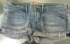 Hollister Size 5 California Denim Distressed Shorts frayed