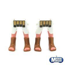 playmobil Romano Egiziani 2x Gambe Pantaloncini corti bianco Stivali oro