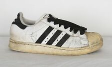 Adidas Shell toe Superstars Trainers UK 6 White (T7R) 2000