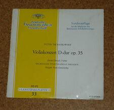 LP Record Violin Concerto Tschaikowsky Oistrach Oistrakh DGG K73139