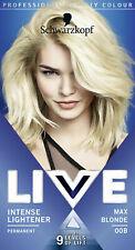 MAX BLONDE | Schwarzkopf Professional Live Intense Colours | Permanent Hair Dye