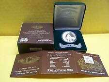 2008 $ 5FINE SILVER PROOF COIN CENTENARY of RUGBY LEAGUE