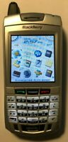 BlackBerry 7100i - Silver Nextel Smartphone Black Excellent Used