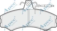 PAD384 GENUINE APEC FRONT BRAKE PADS FOR TALBOT EXPRESS 1000 -1500