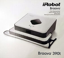 IROBOT BRAAVA JET 390t terra-Wisch robot, Bagnato-Secco-tergicristallo, MOPPING ROBOT