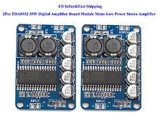 2Pcs TDA8932 35W Digital Amplifier Board Module Mono Low Power Stereo Amplifier