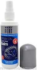 1 x Neat Feat Feet Spray on Foot and Heel Balm 125mL :Easy To Use Spray Bottle: