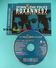 CD Singolo Sting & The Police Roxanne 97 Puff Daddy Remix 588 535 2 PROMO(S23)