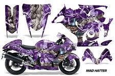 AMR Racing Graphic Kit Wrap Part Suzuki Hayabusa 1300 Street Bike 08-13 MAD HAT