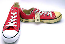 Converse Shoes Chuck Taylor Ox All Star Red Sneakers Mens Mismatched size 7/6.5