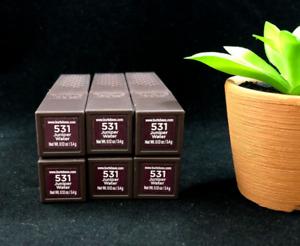 x6 Burt's Bees # 531 JUNIPER WATER 100% Natural Lipstick (PACK OF 6)