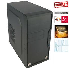 Neuware: Office PC W4000 G4 AMD 3,20GHz ➕ 8GB RAM ➕ 256GB SSD ➕ Win10 Pro ➕ WLAN