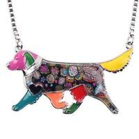 Golden Retriever Dog Pet Original Keepsake Pendant Necklace Jewellery Chain Gift