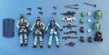 Gi Joe Rise Of Cobra ROC Shockblast / Shockwave  x3 CUSTOM SWAT TEAM S.W.A.T. A