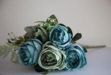 Artificial Silk Peony Flower Bouquet (NO.2) -7 Colours Wedding Centrepiece Decor