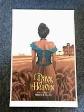 LAURENT DURIEUX DAYS OF HEAVEN VARIANT PRINT POSTER MONDO SIGNED SOLD OUT